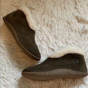 Sorel Valle bleue slippers
